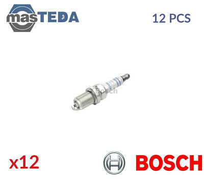 12x BOSCH ENGINE SPARK PLUG SET PLUGS 0 242 229 659 G NEW OE REPLACEMENT • 33.99£