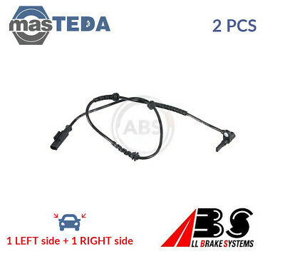 2x ABS FRONT ABS WHEEL SPEED SENSOR PAIR 30571 P NEW OE REPLACEMENT • 45.99£