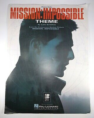 Mission: Impossible Theme Piano Solo Sheet Music By Hal Leonard Tom Cruise • 6.23£