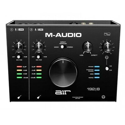 M-Audio Air 192  8 Audio MIDI Interface • 175£
