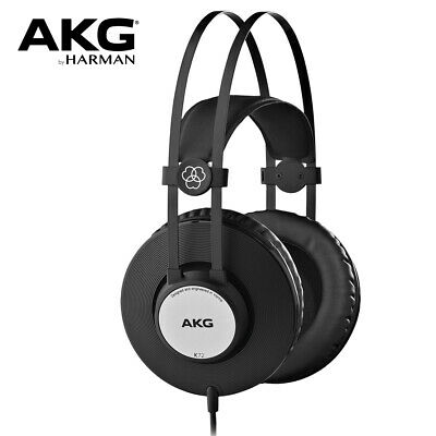 AKG K72 Closed-Back Studio Headphones For Live Sound Monitoring And Recording • 54.26£
