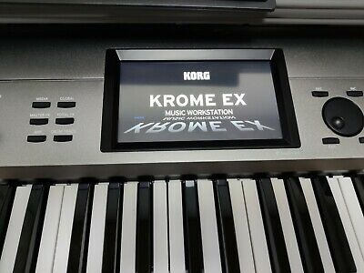 Korg Krome EX 61 Workstation Synth With Sequencer, Arp And Drums • 700£