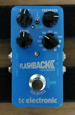 TC Electronic Flashback 2 Delay And Looper Effects Pedal  Used Exc  • 84£