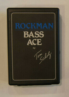 Used Rockman Tom Scholz Bass Ace Headphone Amplifier & Stereo Headset Effects • 62.23£
