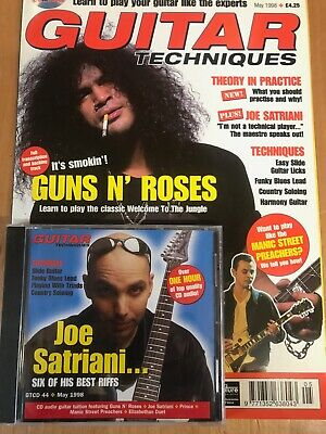 Guitar Techniques magazine & CD: May 1998