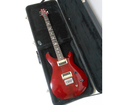 Paul Reed Smith PRS SE 277 Bird Inlay Flame Red 2017 Electric Guitar & Soft Case • 597.68£
