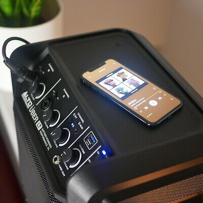 Alto UBER LT 50 Watt Bluetooth Portable SPEAKER / PA !!  Works By Mains Only • 48£