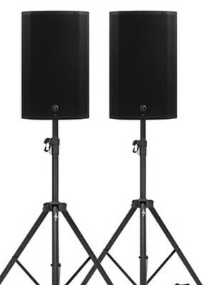 MACKIE THUMP 12A V4 1300 Watt Each PAIR OF PA SPEAKERS FOR DJ BAND SOLO ARTIST • 499£