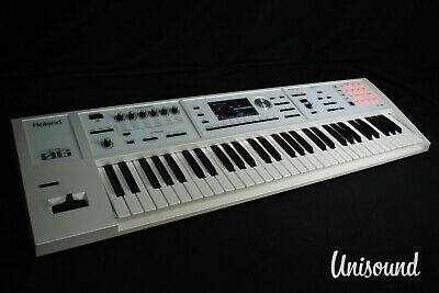 Roland FA-06 (White) Music Workstation Synthesizer In Excellent Condition • 808.47£