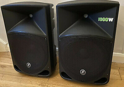Mackie Thump 12a 2000w Pa Speakers For Dj School /church Solo / Duo Very Light • 430£