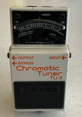 BOSS TU-3 Chromatic Tuner Guitar Effects Pedal New In Box • 50£