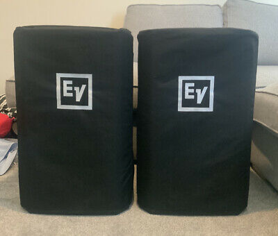 Electro Voice Ev Zlx15p Speakers Purchased 2020 With Covers • 549£