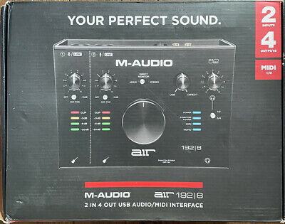 M-Audio Air 192|8 2-In/4-Out 24/192 Audio Recording USB MIDI Interface • 138.18£