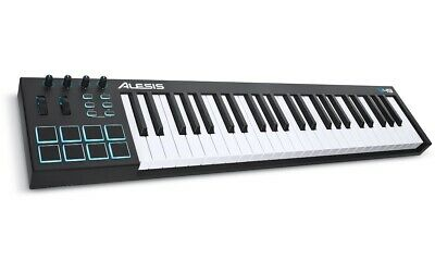 Alesis V49 - 49-Key USB MIDI Keyboard Controller With 8 Backlit Pads, 4 • 85£