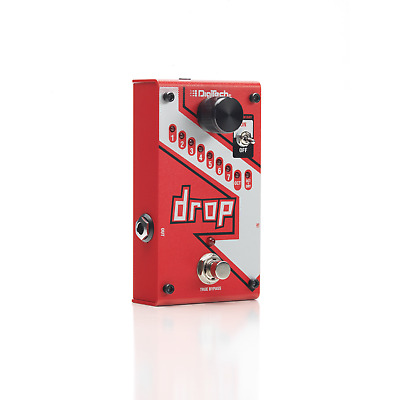 Digitech The Drop, Polyphonic Drop Tune Pedal, Brand New in Box