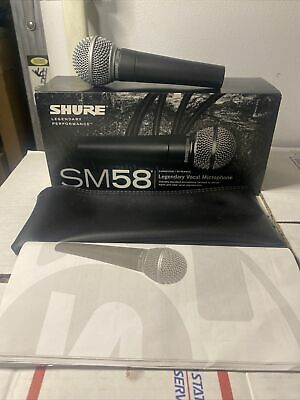 Shure SM58-LC Professional Cardioid Dynamic Microphone With Wire • 53.64£