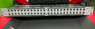 Behringer Ultrapatch Pro PX3000 48 Point 3-Mode Balanced Rackmount Patchbay • 53.12£