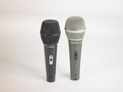 Samson Q4 And Audio Technica Vocal Mic On Off Switch • 18.17£