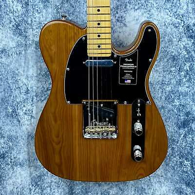 Fender American Professional II Telecaster Guitar in Roasted Pine with Hardcase