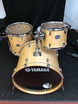 YAMAHA Stage Custom Drums.12,16,24. Natural. Immaculate !!