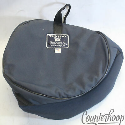 Humes & Berg 14x5 Tuxedo Snare Drum Bag / Case Black Soft Shell Padded Fabric