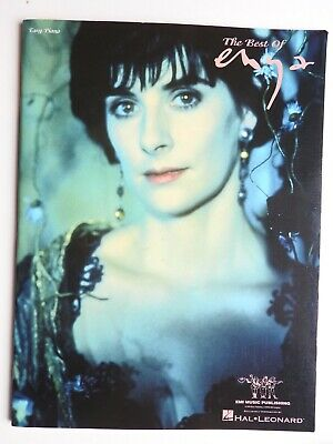 Best of Enya for Easy Piano - 12 songs with chords and lyrics PB