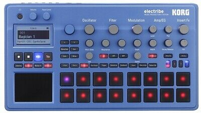 KORG Electribe 2 - BL BLUE Color (Manual is written in Japanese.)
