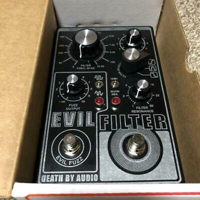 Death By Audio Evil Filter Fuzz