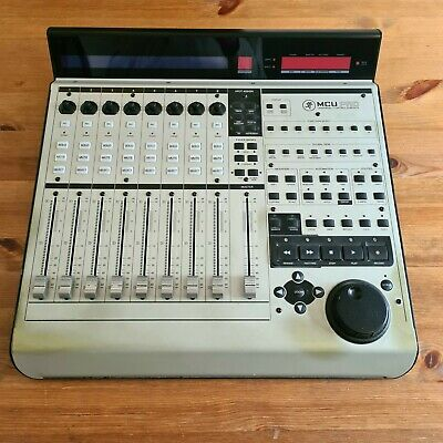 Mackie MCU Pro Universal Control Surface, Logic DAW controller, used condition
