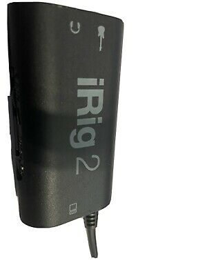 IK Multimedia iRig 2 The Most Popular Mobile Guitar Interface For iOS & Mac