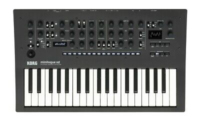 Korg minilogue XD polyphonic analogue synthesiser brand new in box