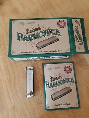 Learn harmonica (with the instruction book)