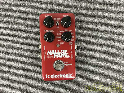 Tc Electronic Effector Reverb Hall Of Fame