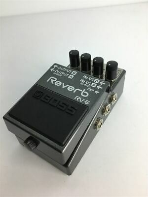 Secondhand Boss Rv-6/Effector/Digital Reverb/Mit Made In Taiwan /Psa Power