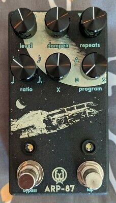 Walrus Audio ARP-87 Multi-Function Delay Pedal - with original box and box candy