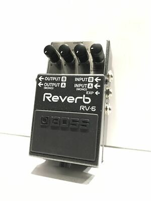 Boss Rv-6/Effector/Revave/Psa Power Supply/Mit Made In Taiwan /Box Instruction