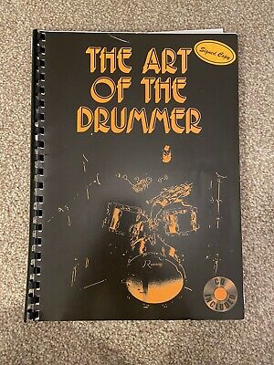 The Art Of The Drummer Music Sheet Book For Drums