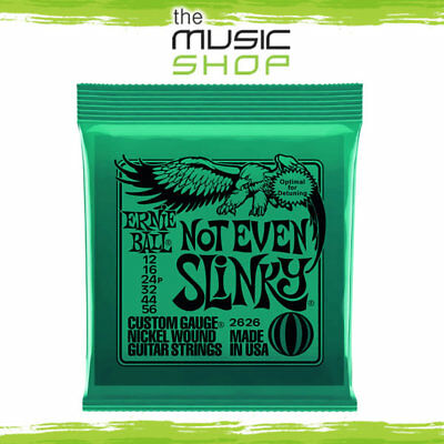 Set Of Ernie Ball 2626 Not Even Slinky Electric Guitar Strings 12-56 Extra Heavy • 9.77£