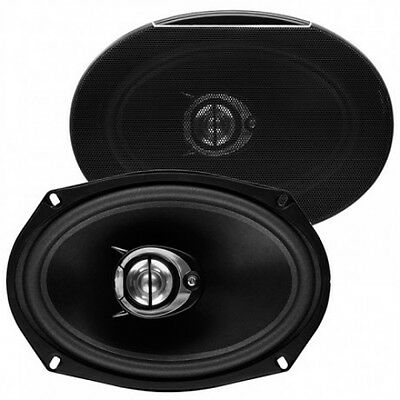 NEW (2) 6x9 3way Car Audio Stereo Sound Speakers Pair.Replacement.4ohm.6x9inch. • 37.46£