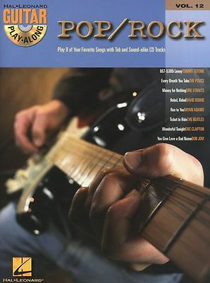 Guitar Play-Along Pop Rock Learn To Play Beatles Police TAB Music Book & CD • 12.94£