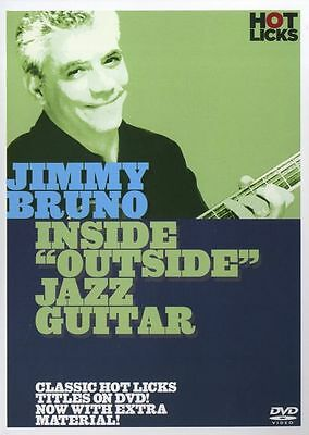 Hot Licks Jimmy Bruno Inside Outside Jazz Guitar Learn To Play Jazz Music DVD • 24.99£