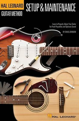 Hal Leonard Method Guitar Setup & Maintenance Repair Maintain Manual Book GUIDE • 17.99£