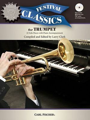 Festival Classics For Trumpet Learn To Play Classical Solos Songs Music Book &CD • 14.94£