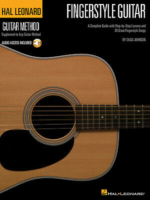Fingerstyle Guitar Method  Guitar  Book With Audio-Online HL00697378 • 14.50£