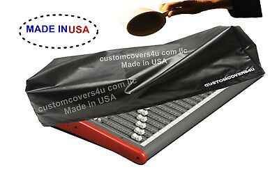 CUSTOM DUST COVER FOR Mackie Big Knob Studio Command System + EMBROIDERY ! • 14.38£