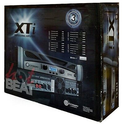 Crown XTi 4002 2-Channel Professional Power Amplifier XTi4002 *OPEN BOX* • 3,440.14£