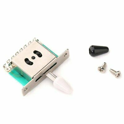 Switch 5 Way Pickup Selector Guitar Fender Toggle Tip Electric Stratocaster • 4.93£