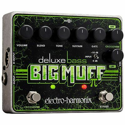 Electro-Harmonix Deluxe Bass Big Muff Pi Distortion/Sustainer Effects Pedal