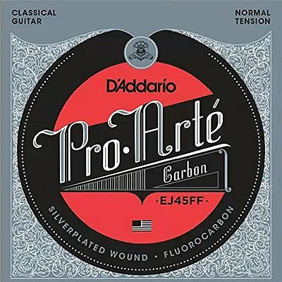 D'Addario ProArte Carbon Classical Guitar Strings, Dynacore Basses, Normal • 13.28£