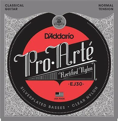 D'Addario EJ30 Classics Rectified Classical Guitar Strings, Normal Tension • 10.48£